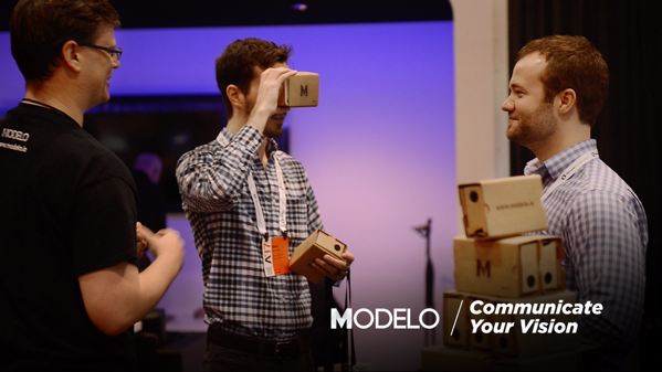 Use Modelo to view complex 3D designs in VR.